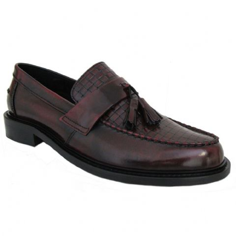 "Ikon Original Bordo ""Weaver"" Loafer"
